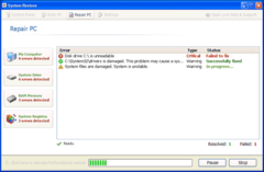 Fake System Restore shows bogus detections as it scans PC