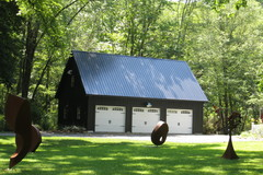 Three Car Garage from Sheds Unlimited in PA