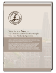 Sterling Land Company Helps Potential Tenants Define Their Wants and Needs During Their Apartment Search