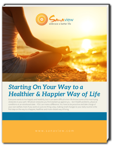 Start embracing a better way of life and download the healthy living guide from SanaView today.
