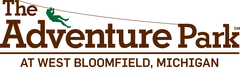 The logo for The Adventure Park at West Bloomfield, Michigan