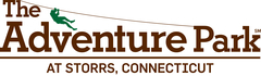 The logo of The Adventure Park at Storrs, Connecticut