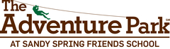 The logo for The Adventure Park at Sandy Spring Friends School