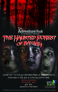 Poster for The Haunted Forest of Bavaria at The Adventure Park at Frankenmuth, MI, October 2015