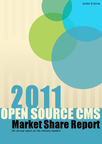 2011 Open Source CMS Market Share Report
