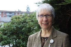 Ingrid Schultz, Chaplain, Menno Place Campus of Care, Abbotsford Retirement Home
