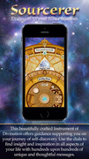 Sourcerer is an innovative new app that enables users to dial in to their inner wisdom. It provides a golden compass for their personal and spiritual growth.