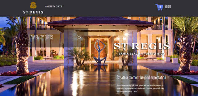 St. Regis Bahia Beach Resort provides luxury that can be accessed from any mobile device.