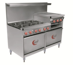 "Gen2 Restaurant Range 60"" from Gen2 Restaurant Equipment"