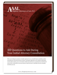 Know What to Ask During Your Initial Consultation with Pittsburgh Attorneys with Help from Allegheny Attorneys at Law