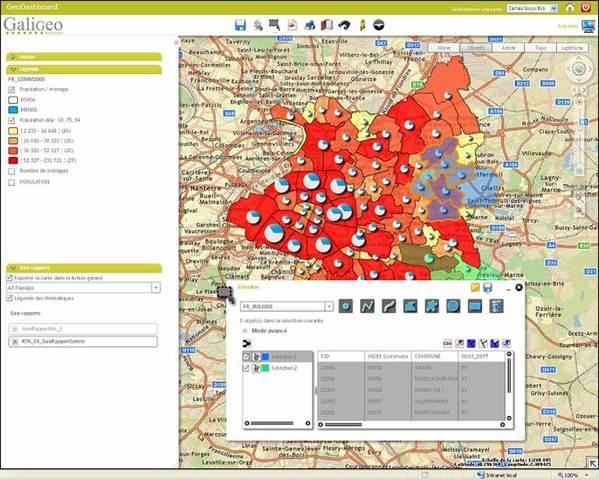 Galigeo's Location Intelligence Software