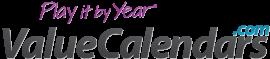 ValueCalendars.com logo with new slogan