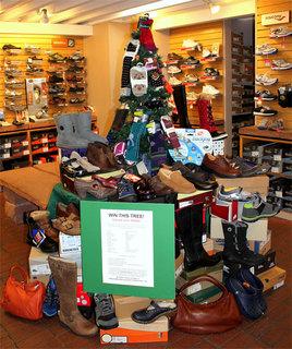 Win the $4000+ Pedestrian Shops' Comfortable Shoe Tree