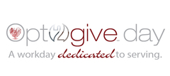 #Opt2give