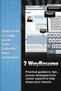 Start Fresh or Copy & Paste Your Linked In Profile or Existing Resume,