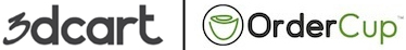 3dcart+OrderCup Logo