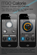 With ITGO CALORIE's Active Calorie Monitor ™ feature, users can set up their workout to burn a specific number of calories based on their weight and chosen exercise.