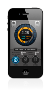 All I Want for Christmas is ITGO Calorie - The New and Most Advanced Interval Timer App for the iPhone 4