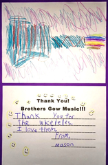 """San Diego's Brothers Gow Music Foundation Rocks an """"OBIE"""" Award for Promoting Youth Music Education"""