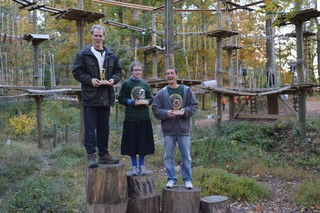 "Adventure Park Athletes Compete In Sandy Spring's Treetops at First Ever ""Iron Monkey Challenge"""