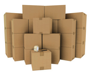 A supply of different size moving boxes can be essential when packing your valuable for self storage.