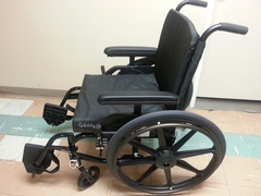Menno Place is the grateful recipient of five donated wheelchairs!