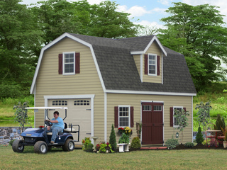 Sheds Unlimited Detached Two Story Sheds and Garages take on New Heights in Lancaster PA