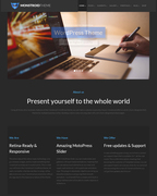 Monstroid is a powerful multi-purpose WordPress theme made by TemplateMonster