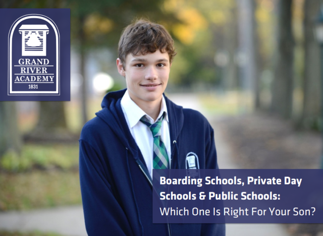 Discover the differences between boarding, private and public school with help from Grand River Academy.