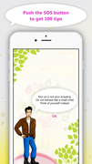 """Camomile Quotient """"Hello Next Forget yor ex."""" app. Available on the App Store.<br />"""
