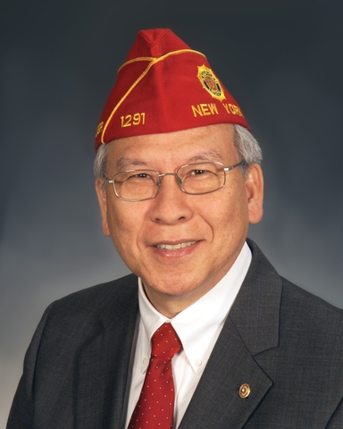 Fang A. Wong, National Commander of the American Legion, has been named 2012 Distinguished Patriot by the Sons of the Revolution in the State of New York.