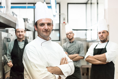 Chef Gianluca and his team hand-select ingredients from across Italy to create delicious recipes for home