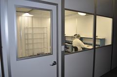 Densitron's purpose-built cleanroom in its California facility.