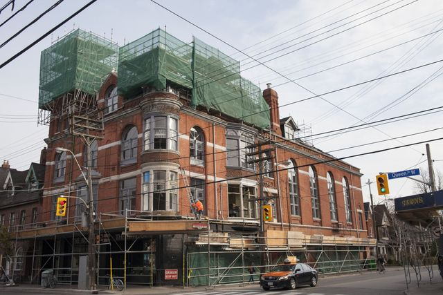 The Great Hall, a landmark Toronto venue since 1889, is completing a total renovation and restoration for Spring 2016.