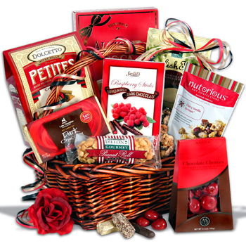 Valentine's Gift Baskets for International Delivery