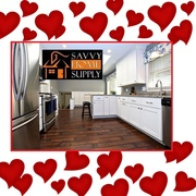 Louisville granite countertop company Savvy Home Supply is offering a  faucet give-a-way as part of a Valentine's Day promo for customers ordering 50 sq. ft. of granite or more.
