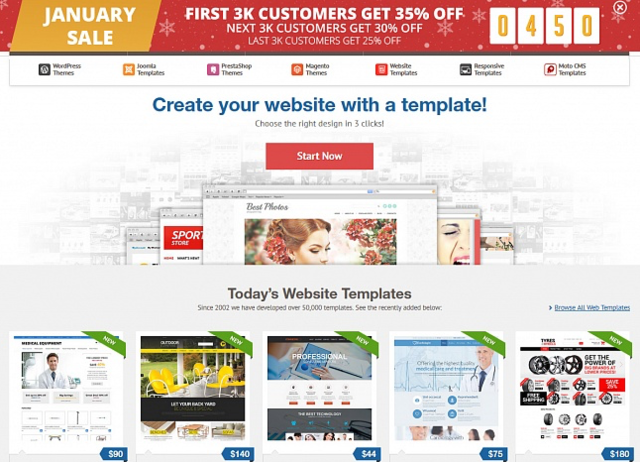 Grab Your Discount For 9000 Web Design Templates