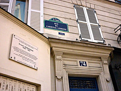 Former Ernest Hemingway apartment in Paris is one of the literary sights of Left Bank Writers Retreat summer writers' workshop