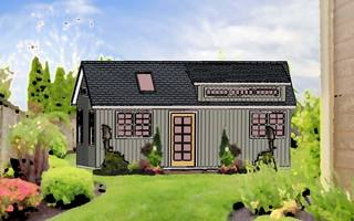 New Models of Sheds For Sale in PA turn Backyard Sheds into Tiny Houses, Granny Pods and Home Offices