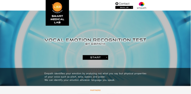Smartmedical's new website is offering Web Empath API, which provides developers with simple access to its vocal emotion recognition technology.<br />