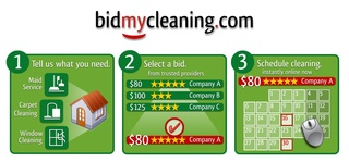 Announcing BidMyCleaning.com – The first online marketplace for house cleaning services