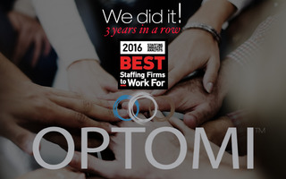 Staffing Industry Analysts Names Optomi one of the Best Staffing Firms to Work For®