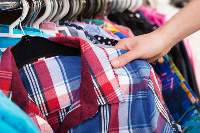 Turn all the hangers around backward in your closet. As wear items, and rehang them, turn the hangers the right way. Soon you'll see which items you never wear - and should donate!