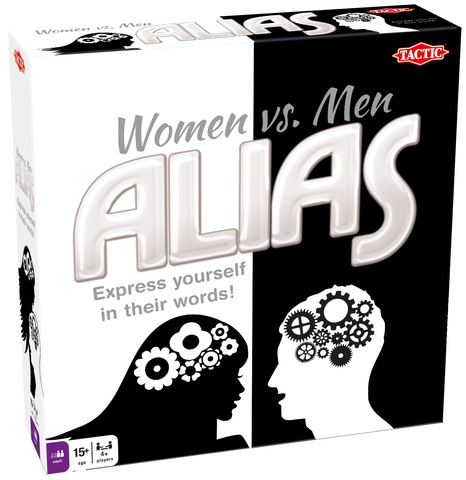Women vs. Men Alias game