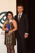 Dr. Stacie Grossfeld and husband Karl Dockstader at the 2016 EPIC Award Ceremony in Louisville, Kentucky.