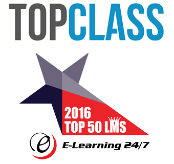 TopClass LMS from WBT Systems has again been named a Top 50 LMS in the World for 2016, by ELearning 24/7.