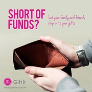 Short of funds to buy your gift? Ask friends to chip in!