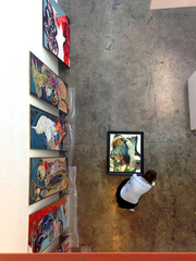 Welcome to the Party | The Doors Are Now Open | Art Exhibition by Elham Moaidnia in Dubai