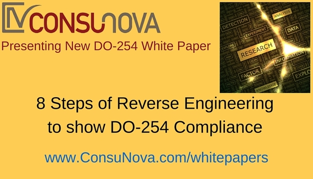 8 Steps of Reverse Engineering to show DO-254 Compliance