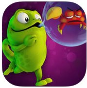 Adventure Through A 3D World On The Bubble Jungle App<br />